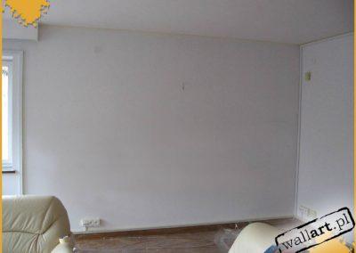 widok ściany