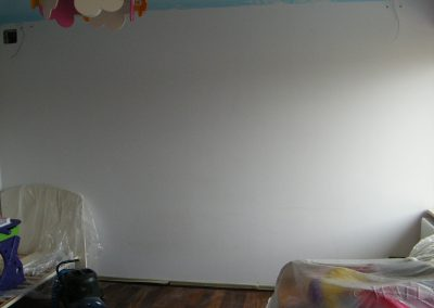 przed malowaniem