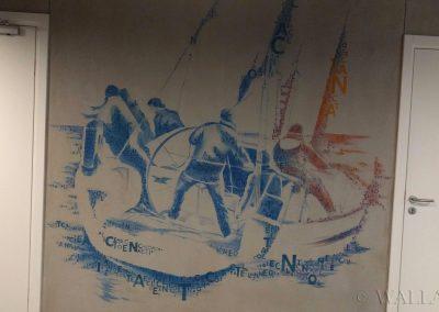 malowidło na ścianie