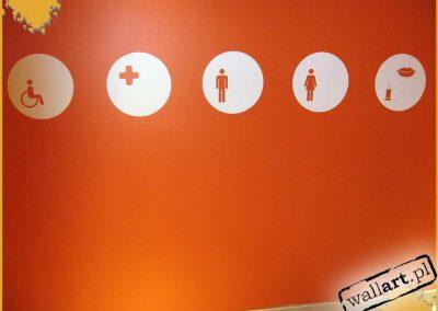 pomalowane ściany - namalowane ikony