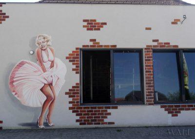 malowidło ścienne - Marylin Monroe