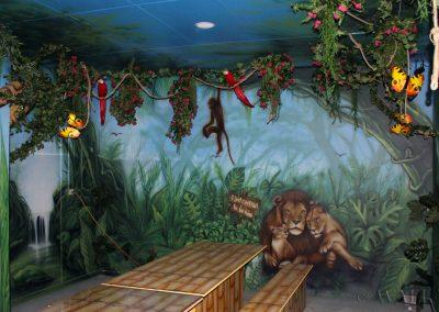 malowidła ścienne - pokój urodzinowy
