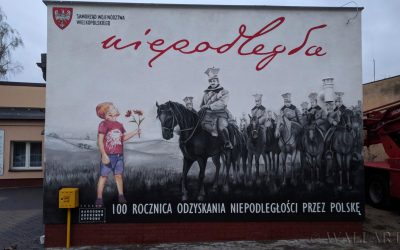 289. Mural patriotyczny