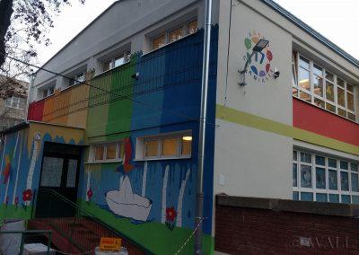 mural - przedszkole Kółko Graniaste - Warszawa