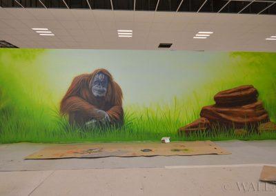 malowidła ścienne w sali zabaw