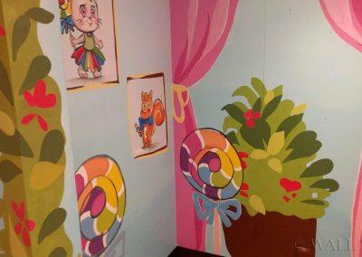 malowidła ścienne w Manufakturze Cukierków