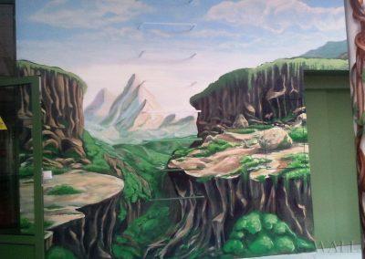 malunki na ścianach