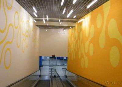 pomalowane ściany - namalowane grafiki - malarstwo dekoracyjne