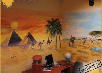 wykonane malowidło