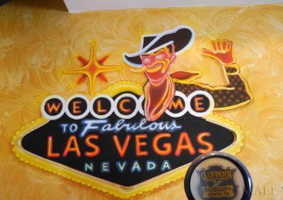 malowidło ścienne Las Vegas