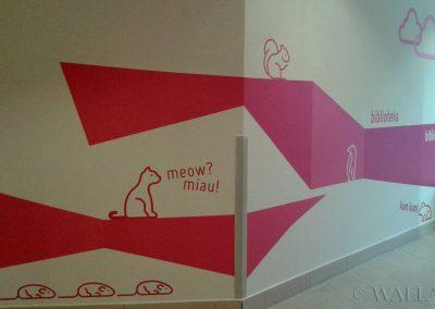 pomalowane ściany - malowanie dekoracyjne