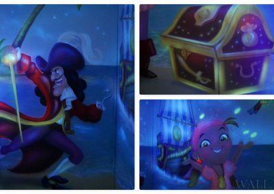 malowidła fluorescencyjne - piraci
