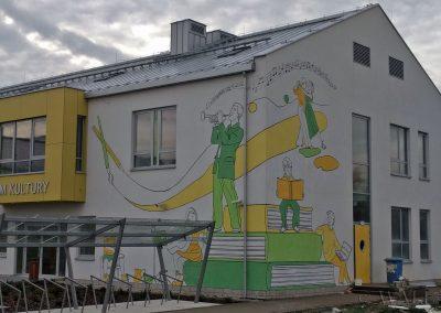 mural - dom kultury Stare Babice