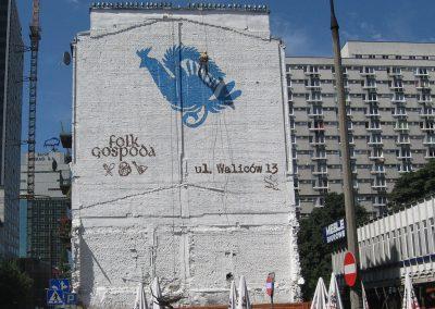 mural - folk gospoda, Warszawa