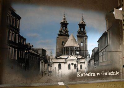wykonane malowidło - Katedra Gniezno - obraz namalowany aerografem na ścianie