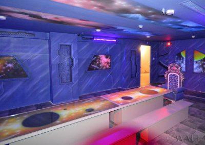 malowidła ścienne UV - kosmiczny pokój urodzinowy