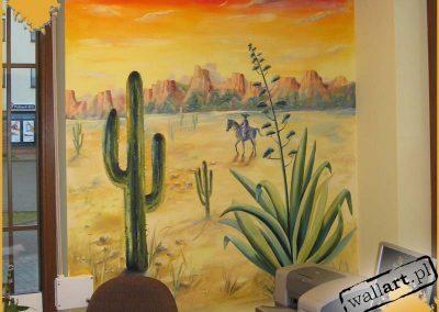 wykonane malowidło meksykańskie