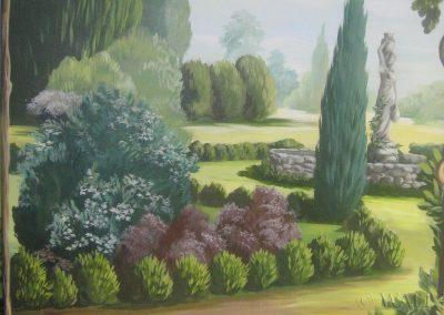 malowidło - ogród