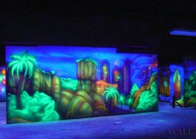 malowidła ścienne - budynki