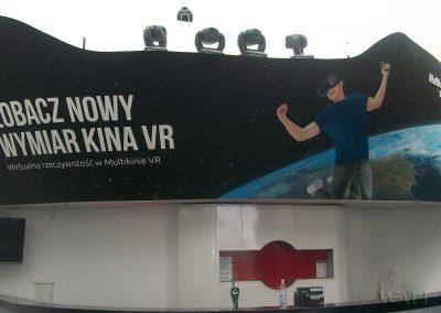 namalowana grafika w kinie - multikino VR Złote Tarasy Warszawa
