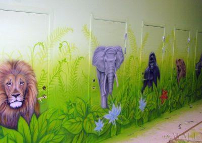 malowidła ścienne - zwierzęta