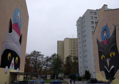 wykonane murale - Barkocińska Warszawa