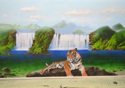 obraz ścienny -  tygrys