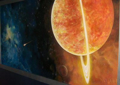 kosmiczne obrazy na ścianie