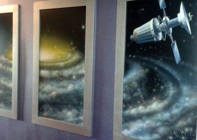 kosmiczne obrazy na ścianie - galaktyka