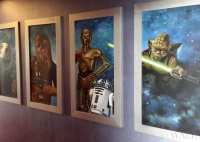 kosmiczne obrazy na ścianie - Star Wars