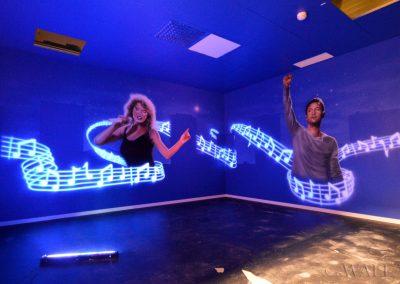 malowidła ścienne - party room - disco
