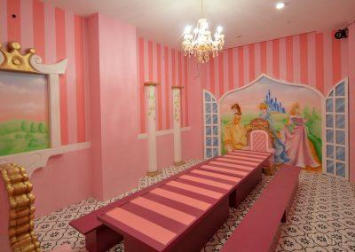 malowidła ścienne - pokój urodzinowy księżniczki