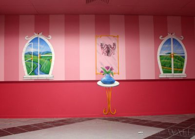 malowidła ścienne - pokój urodzinowy - zamek