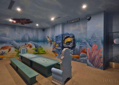 podwodny pokój urodzinowy - rafa