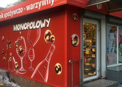 mural - sklep spożywczy