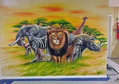 obraz ścienny - zwierzęta afrykańskie