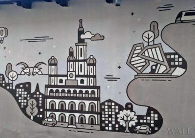 mural na murku