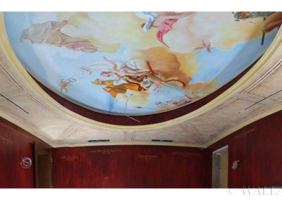 malowidło sufitowe