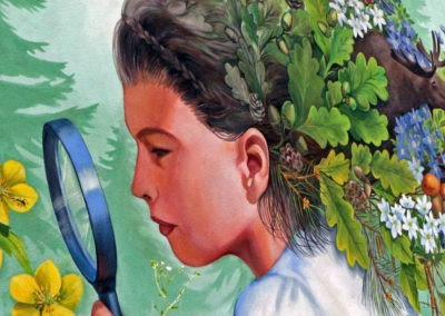 powiększenie malowidła