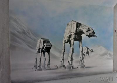 malowidło Star Wars