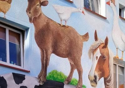 powiększenie muralu