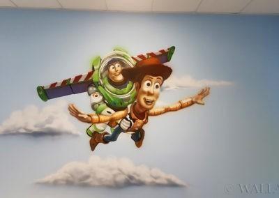 malowidło Toy Story