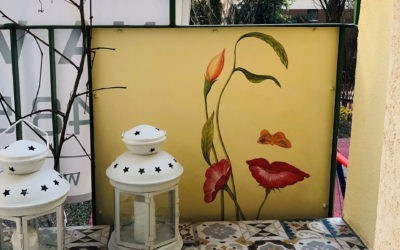 325. Malowidło na balkonie
