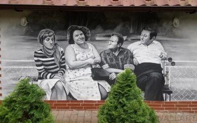 329. Mural na domku letniskowym