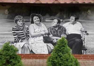 mural - kadr z filmu Rejs