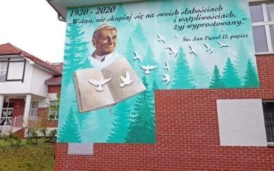 328. Mural – Jan Paweł II