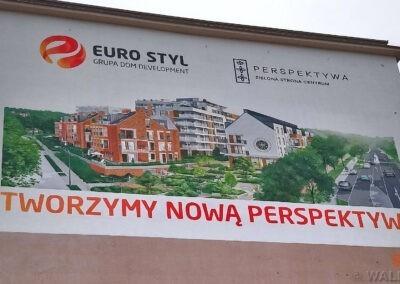 mural reklamowy Gdańsk Łagiewniki
