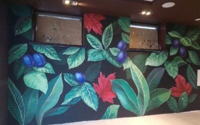 331. Malowidło w restauracji